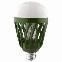 Лампа антимоскитная 6Вт 220В Е27 IP20 40м2 Зеленый 82*82*155мм Feron LB-850