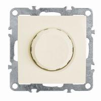 Выключатель диммирующий (механизм), STEKKER, PSW10-9106-02, 250В, 600W, серия Эрна, слоновая кость