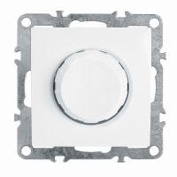 Выключатель диммирующий (механизм), STEKKER, PSW10-9106-01, 250В, 600W, серия Эрна, белый