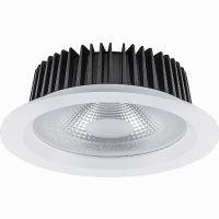 Светильник светодиодный 12Вт 4000K 230В 1080Лм IP20 155*80 мм. 90гр. белый встраиваемый AL251