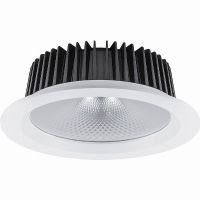 Светильник светодиодный 12Вт 4000K 230В 1080Лм IP20 155*80 мм. 60гр. белый встраиваемый AL251