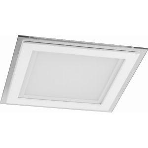 Светодиодный светильник 20W IP20 200*200*37мм квадрат
