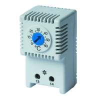 Термостат NO контакт диапазон 0-60град.C DKC R5THV2
