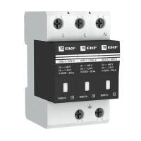 Ограничитель перенапряжения имп. ОПВ-C/3P 20кА 400В EKF opv-c3