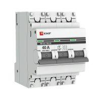 Выключатель нагрузки 3п 40А ВН-63 PROxima EKF SL63-3-40-pro