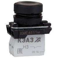 Кнопка управления КМЕ4111м 1но+1нз IP40 цилиндр черн. КЭАЗ 248240