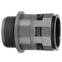Переходник труба-коробка DN 12мм М20х1.5 полиамид черн. IP66 DKC PAM12M20N