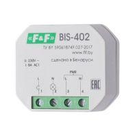 Реле импульсное BIS-402 (для установки в монтажную коробку 230В 8А 1Z IP40) F&F EA01.005.002
