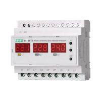 Переключатель фаз автоматический PF-451-1 (2 режима работы: с или без приоритетной фазы. Порог переключения: нижний 140-210В; верхний 240-300В; 3х63А монтаж на DIN-рейке) F&F EA04.005.005