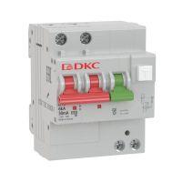 Выключатель автоматический дифференциального тока с защитой от сверхтоков YON MDV63-22C16-A 2п 30мА DKC MDV63-22C16-A