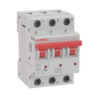 Выключатель автоматический модульный YON MD63-3C63-6 6кА DKC MD63-3C63-6