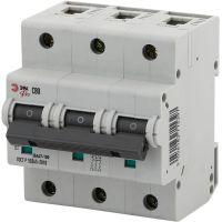 Выключатель автоматический модульный 3п C 80А ВА47-100 Pro NO-901-33 ЭРА Б0031794