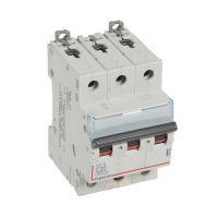 Выключатель автоматический модульный 3п C 20А 6кА DX3-E 6000 3мод. 230/400В Leg 407292