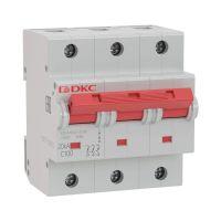 Выключатель автоматический модульный YON MD125-3D100-14ln DKC MD125-3D100