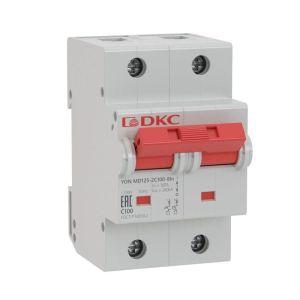 Выключатель автоматический модульный YON MD125-2NC125-8ln DKC MD125-2NC125