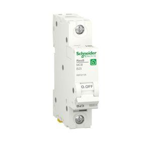 Выключатель автоматический RESI9 (АВ) B 25А 1P 6000А SchE R9F02125