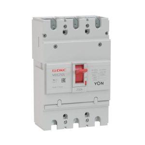 Выключатель автоматический в литом корпусе YON MDE250N160 DKC MDE250N160