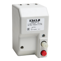 Выключатель автоматический 50А 10Iн АП50Б 2МТ У3 400В AC/220В DC КЭАЗ 106917
