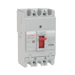 Выключатель автоматический в литом корпусе YON MDE100N100 DKC MDE100N100
